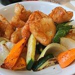 Calamars grillés à la Thaïlandaise, légumes sautés