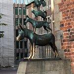 Town Musicians of Bremen (Bremer Stadtmusikanten) ภาพถ่าย
