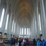 The nave Hallgrimskirka