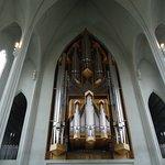 Some of the organ Hallgrimskirka