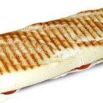 Panini salé (dans le pain baguette)