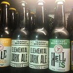 Local beers and cider