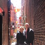 Fan Tan Alley - we stopped here for Italian bakery & chocolates!
