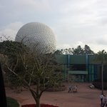 Epcot from the monorail
