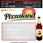 Ordine le tue Pizze Chiama e ordina ora! Tel:0362/300300 Pizzeria Pizzaland  Consegne a domcilio