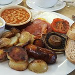 Full English with sourdough toast