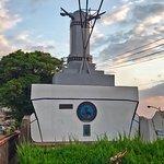 歴史の見える丘にて、噫戦艦大和塔。