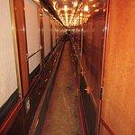 Sleeping carriage corridor