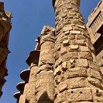 صورة فوتوغرافية لـ معبد الكرنك