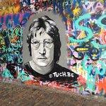 John Lennon Wall ภาพถ่าย