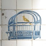 Period tiles in the kitchen