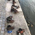 Παπούτσια στον Περίπατο του Δούναβη Φωτογραφία