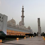 Zayed Mosque at Dusk