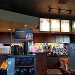 Starbucks Counter Area