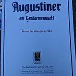 Φωτογραφία: Augustiner am Gendarmenmarkt