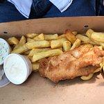 VERY small fish (cod)