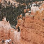 View from the Sunrise Point at Bryce Canyon - detail