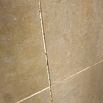 Stained grouting