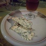 il dessert: erborinato e vernaccia