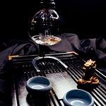 Варка чая в сифоне