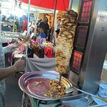 a stall selling kebab
