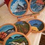 souvenir dipinti a mano, di nostra produzione