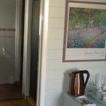 Room 5 - bathroom, fridge with tea & coffee making facilities