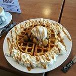 Dutch Apple Belgian Waffle