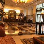 Lobby is grand