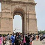 our traveller at Delhi India gate