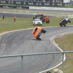 Robby Gordon Showing Off