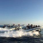 Direzione Isole Tremiti a bordo dei MaxiRIB Lidia e Cristina
