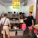 Duck meat stall