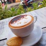 커피 코너의 사진