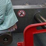 forbidden to sit