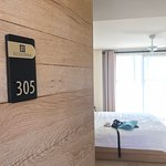 Lovely rooms and 305 is probably one of the quietest.