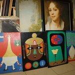 На фото картины Ижевского художника Александра Гермесова. Работы написаны на фанере акрилом.