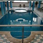 Hotel outdoor and indoor pool