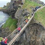 Carrick-A-Rede Rope Bridge Foto