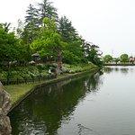 Foto Puing Istana Yonezawa / Taman Mastugasaki