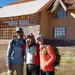 Com nosso amigo Mário, guardião do último Lodge!!!