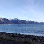 Vista de la bahía de Seward