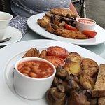 Lovely vegan breakfast
