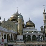 The beautiful crystal mosque