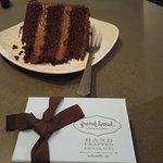 Cake and a box of Good Stuff