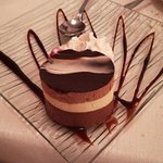Tortino al triplo cioccolato