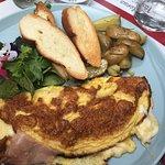 Brunch menu - omelette classica 16 euro
