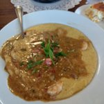 shrimp and grits with tasso ham