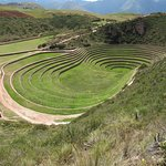 the Inca's argicultural masterpiece in the Sacred Valley