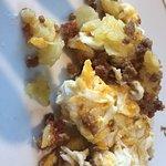 Huevos Rotos jabalí. (Media compartida)